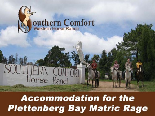Plettenberg Bay Matric Rage Accommodation