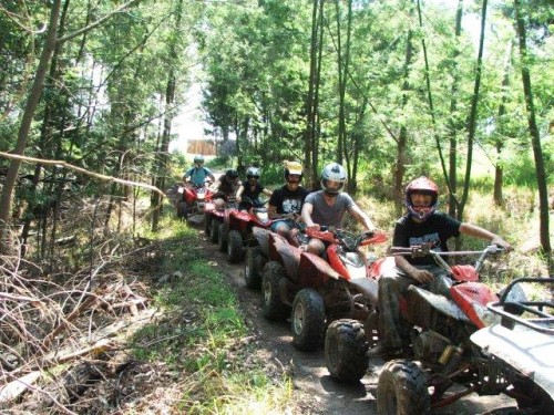 Quad Biking near Knysna on the Garden Route